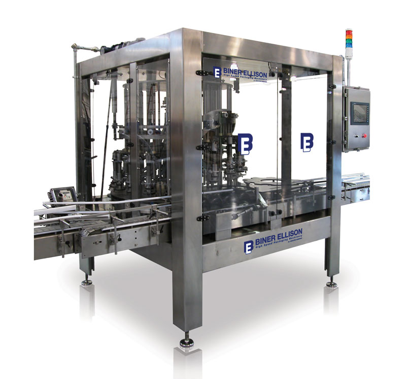 0-ROF rotary overflow filling machine