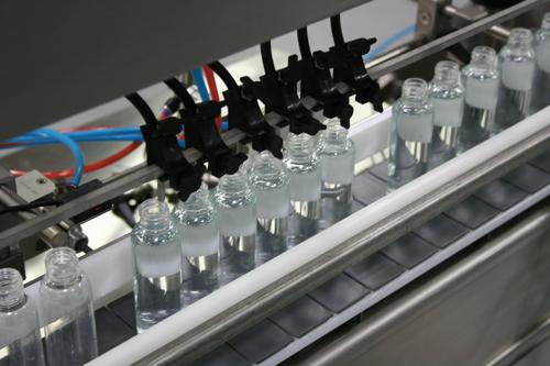 Auto Mini Pinch Timed-flow Volumetric Filling Machines